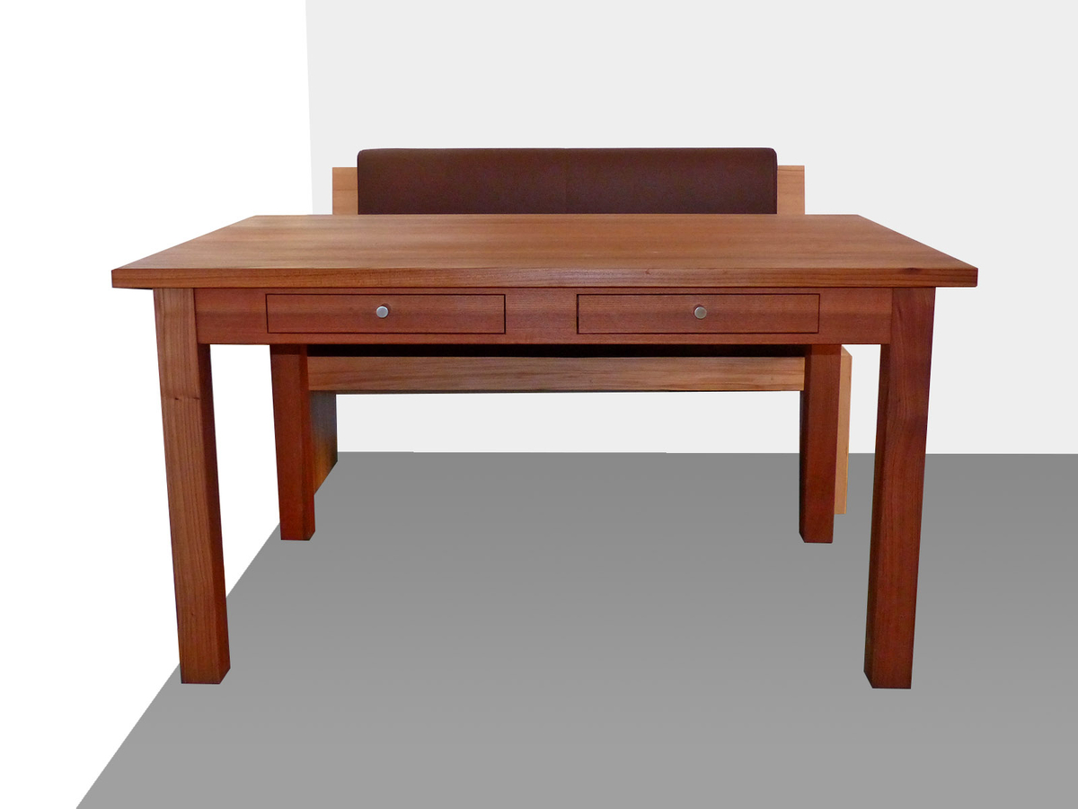 Tisch ulme dunkel for Tisch dunkel