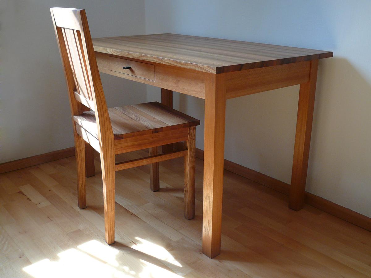 Tisch Und Stuhl Ulme
